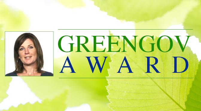 RedVector Author Rumanda Young Wins Presidential GreenGov Award