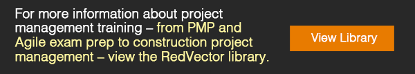 PMP and Agile exam prep to construction project management