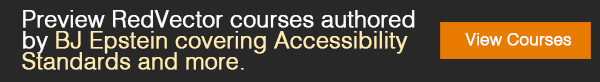 courses authored by BJ Epstein covering Accessibility Standards