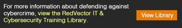 RedVector-IT-Cybersecurity-Training